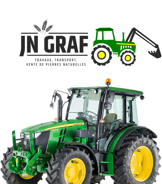 terrassement jn graf travaux agricoles amenagement exterieur construction produit pierres sable graviers naturelles transport tracteur agriculture legumes fruits